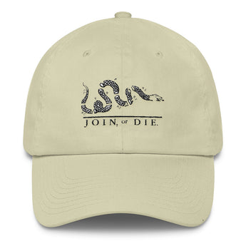 Join or Die - Cap (baseball style)