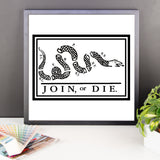 Join or Die - Framed Poster