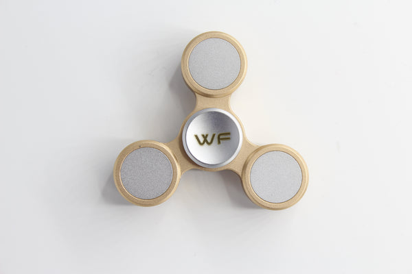 WeFidget's SMOOTHEST Fidget Spinner, (Black and Gold Available)
