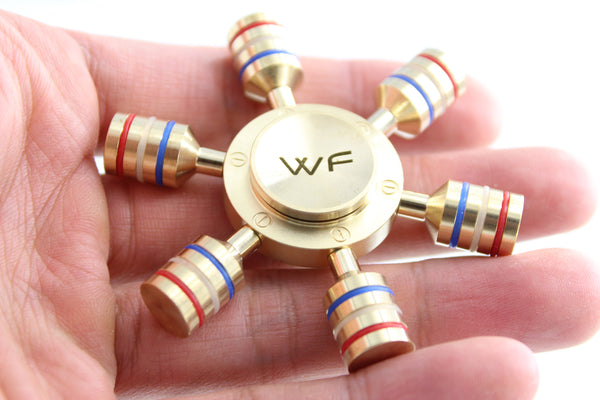 WeFidget's Original Modular Fidget Spinner Toy, Fully Detachable Arms