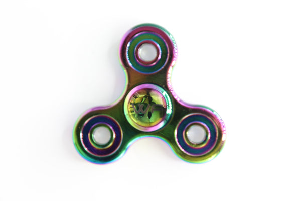 WeFidget's Metal Chrome Tri Fidget Spinner