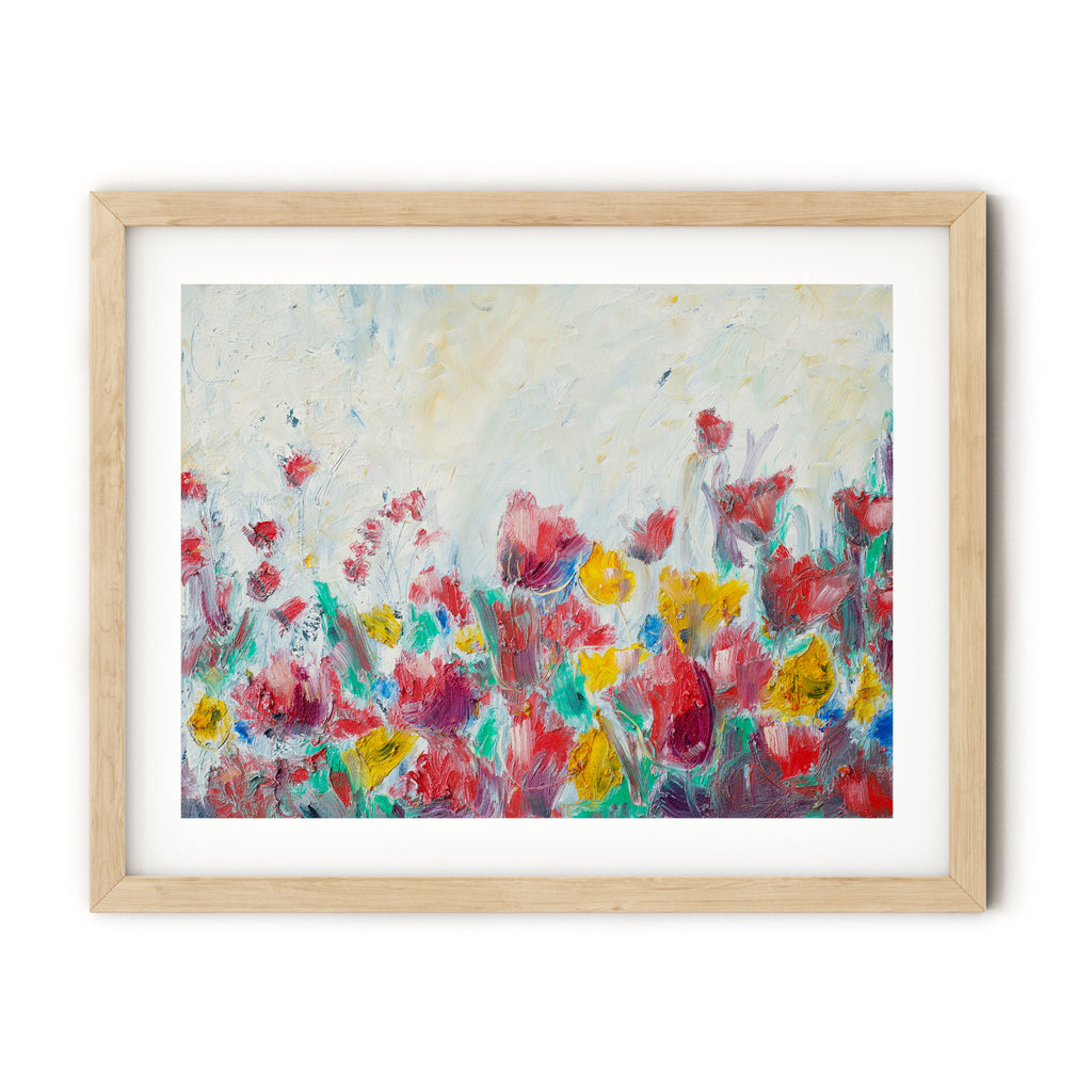 Dreaming of Spring, digital print of original oil painting - Harmony House, LLC