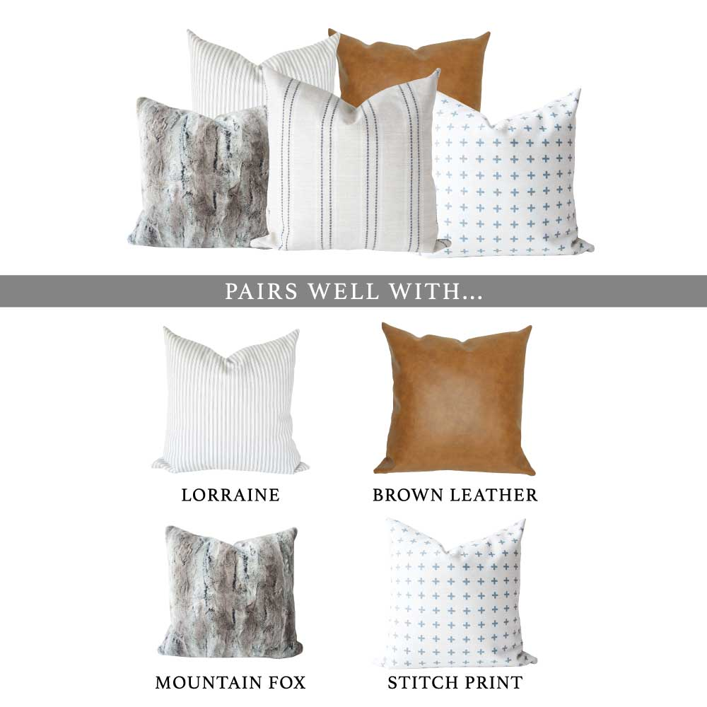 Elsie Pillow Cover - Harmony House, LLC