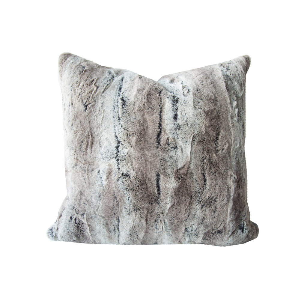 Mountain Fox Fur Pillow Cover - Harmony House, LLC