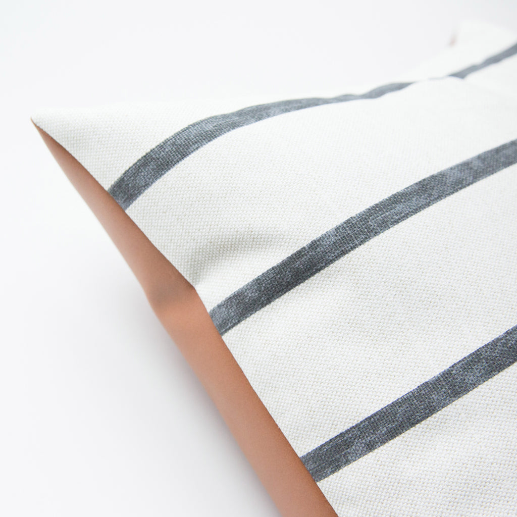Miles Stripe Pillow Cover - Harmony House, LLC