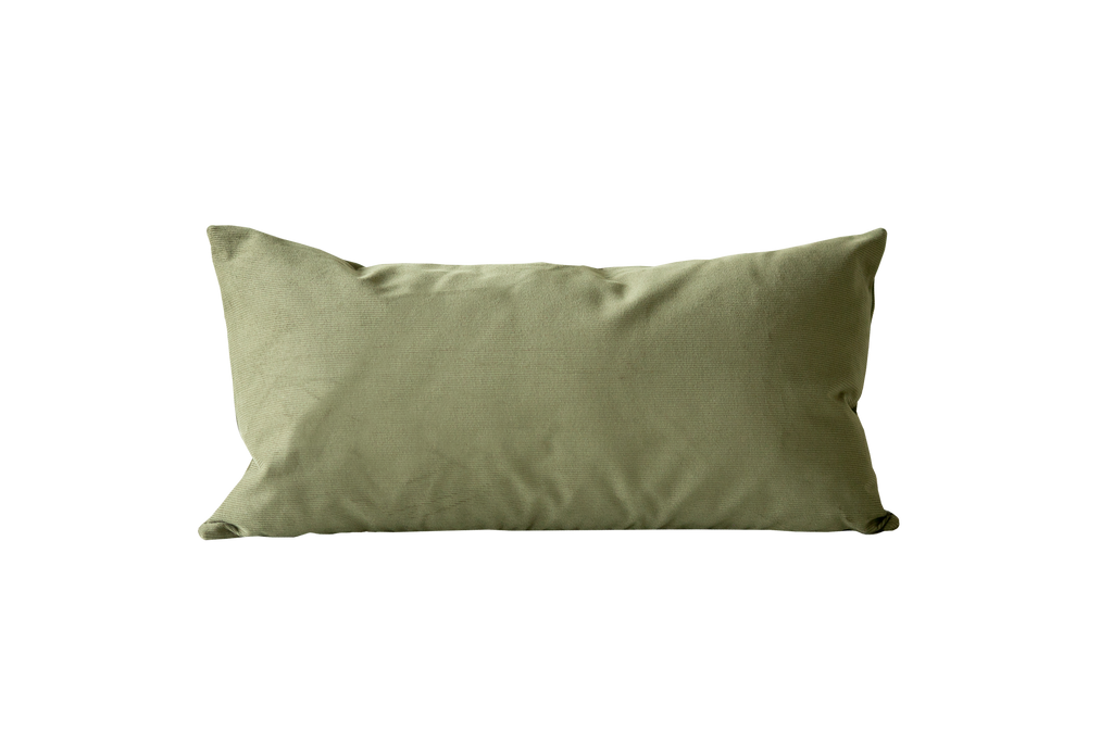 Olive Corduroy Pillow Cover - Harmony House, LLC