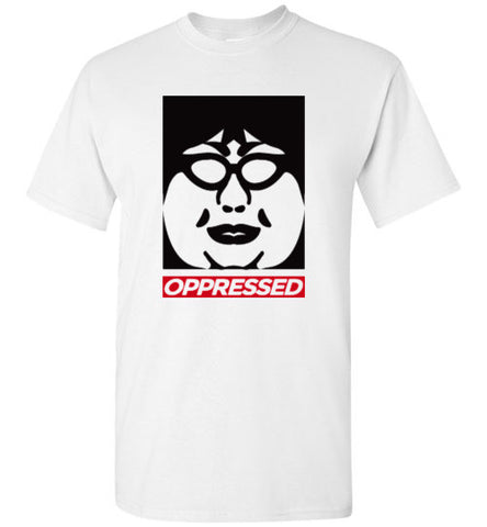"""Oppressed T"" Worldwide Postage"
