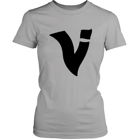 BIG V (black) LOGO | LADIES TEE