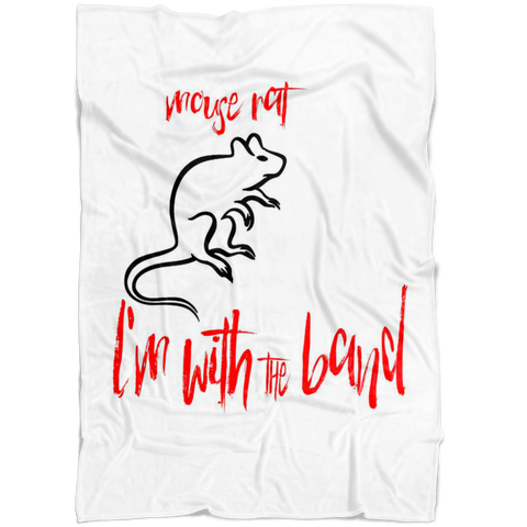 I'm with the Band | Mouse Rat Blanket