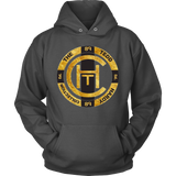 THE TEDD HARDY COLLECTION GOLD - Heavyweight Hoodie/Pullover