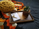 Reclaimed Wood Serving Tray - Natural