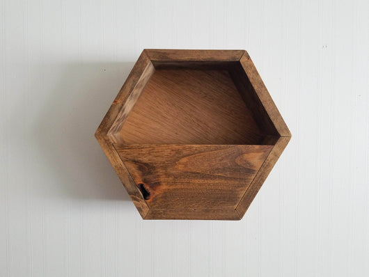 Hexagon Planter Shelf