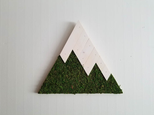 Moss Mountain Wall Art