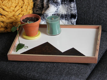 Serving Tray - Stain Mountains
