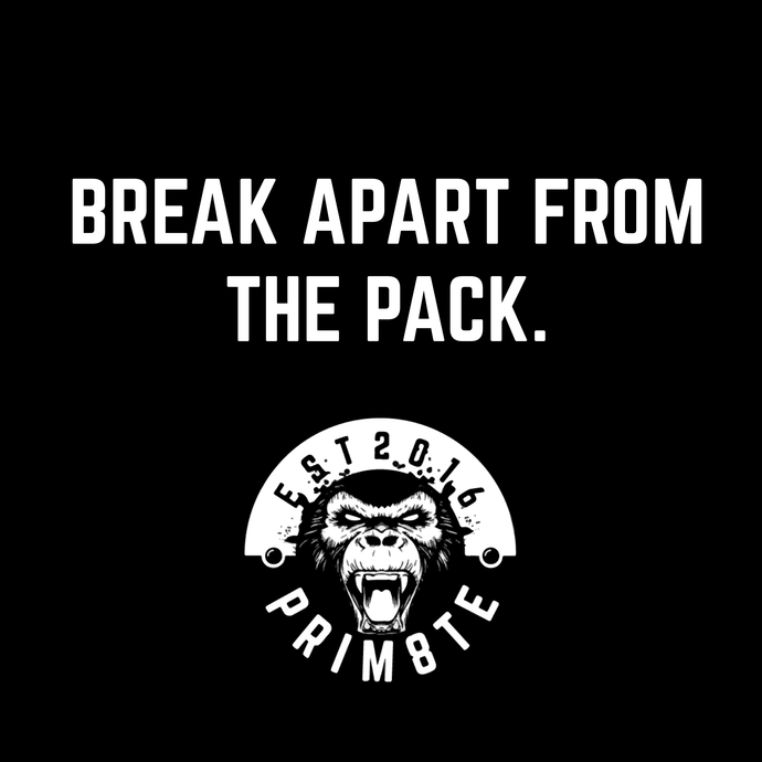 Break Apart From The Pack.