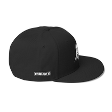 Solid Black Snapback