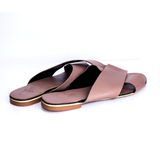 Dej Brown Femme Cross Slippers