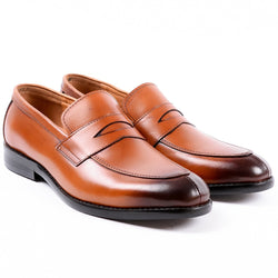 Dej Tan SplitToe Penny Loafers (Slim)