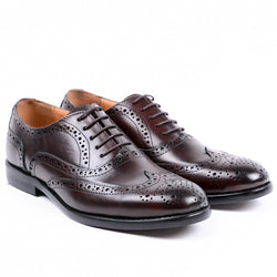 Dej Coffee Oxford Brogues (Slim)