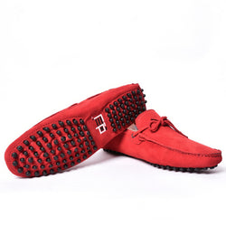 Dej Red Nubuck Drivers