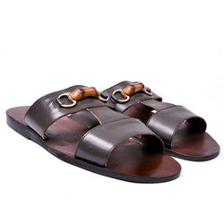 Dej Brown Classic Bamboo Slippers