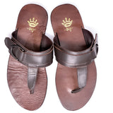 Dej Brown Horse-Shoe Slippers