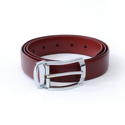 Dej Tan and Brown Reversible Belt