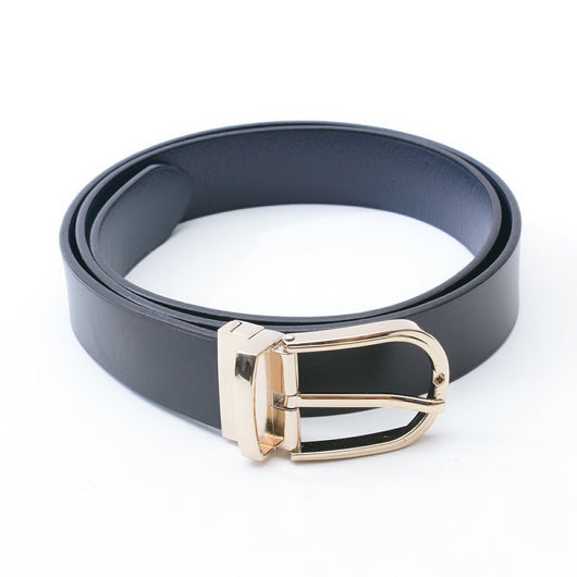 Dej Black and Blue Reversible Belt