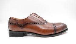 Dej Brown Quarter Brogues
