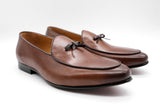 Dej Brown Belgian Loafers