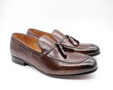 Dej Coffee Rope Tassel Loafers