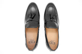 Dej Black Rope Tassel Loafers