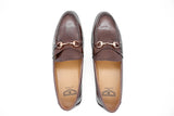 Dej Coffee Horse bit Loafers