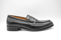 Dej Black Penny Loafers