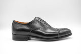 Dej black Quarter Brogues-Slim