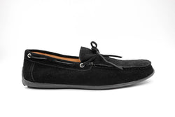 Dej New Black Suede Rope Drivers
