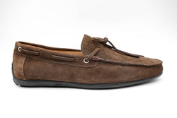 Dej New Brown Suede Rope Drivers