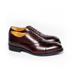 Dej Coffee CapToe Oxfords