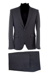 Dej Dark Grey Single Button Suit