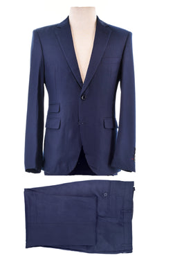 Dej Navy Pin Stripe 2-Button Suit