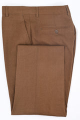 Dej Golden Brown Wool-Blend Double Breasted Suit
