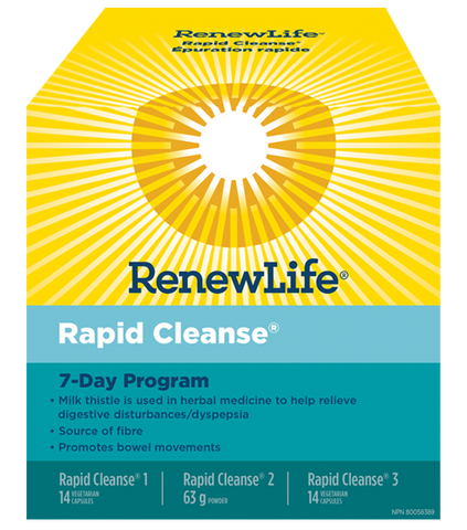 Rapid Cleanse - 7 Day Total Body Cleanse