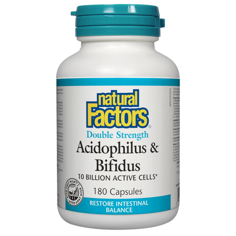 Acidophilus\Bifidus 10 Billion - 180 capsules