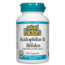 Acidophilus/Bifidus 5 Billion - 90 capsules
