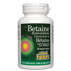 Betaine HCL with Fenugreek - 90 capsules