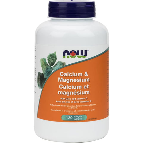 Cal-Mag with Vitamin D - 120 softgels
