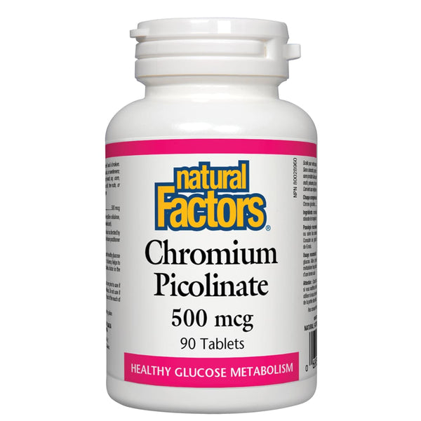 Chromium Picolinate 500 mcg - 90 tablets