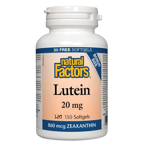 Lutein 20 mg - 150 softgels