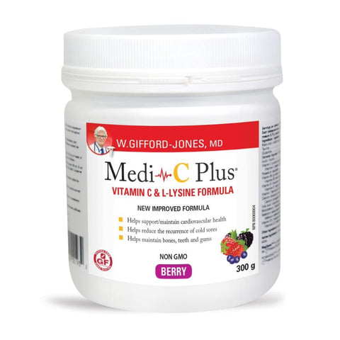 Medi C Plus - 300 grams / Berry Flavour