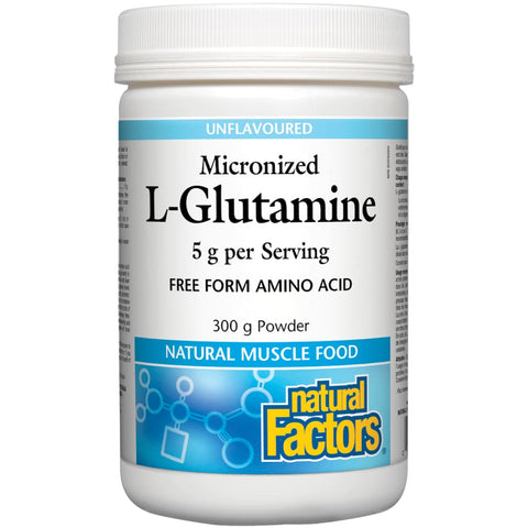 Micronized L-Glutamine - 300 grams